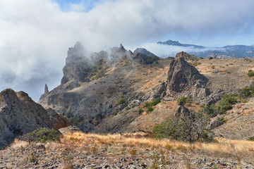 Landscapes of the Crimea Peninsula.
