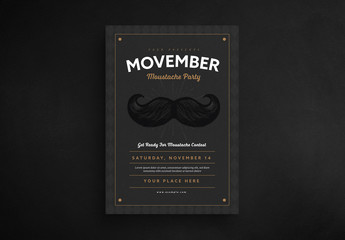 Movember Event Flyer 2