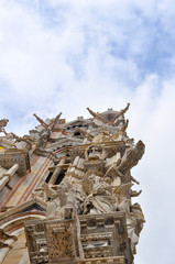 Gargoyles in the Cathedral of Siena