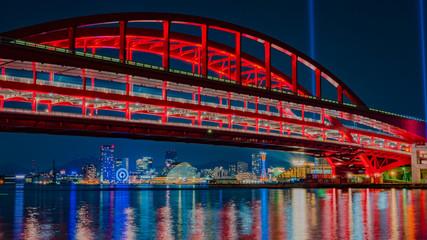 神戸大橋東面