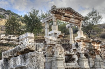Fountain of Trajan, Ephesus Ancient City.