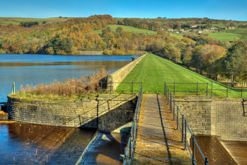 Agden reservoir, Bradfield, Yorkshire