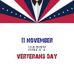 Veterans day of USA in 11 november, USA official holiday