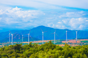 windmills in Vietnam