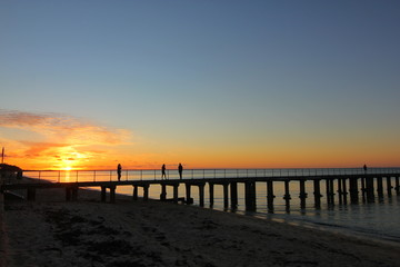 Sunset at Mornington Peninsula