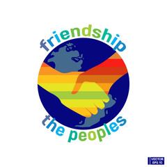 Friendship of the people icon.
