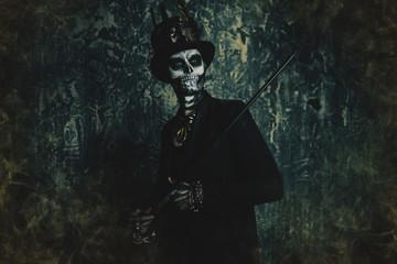 cemetery keeper dead