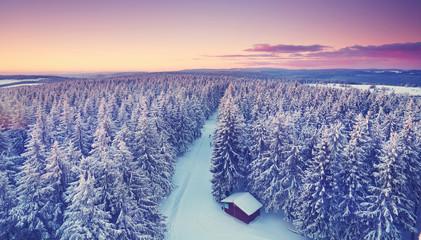 romantische Winterwelt