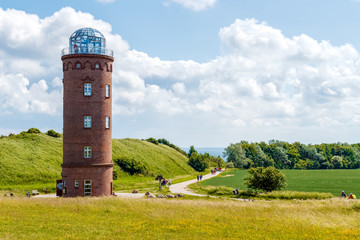 Fototapete - leuchtturm auf kap arkona in rügen