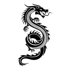 Dragon logo illustration
