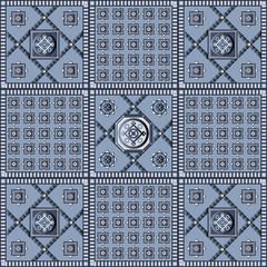 Seamless geometric pattern 4