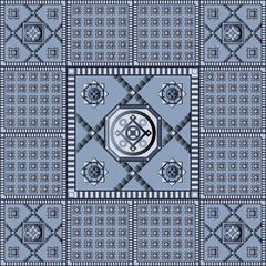 Seamless geometric pattern 9