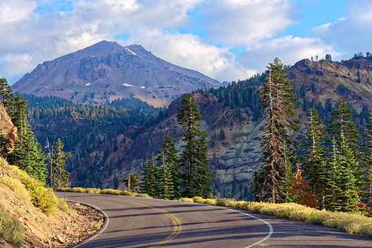 Lassen Volcanic National Park Highway