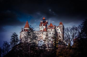 Keuken foto achterwand Kasteel Bran Castle, Transylvania, Romania. A medieval building known as Castle of Dracula.