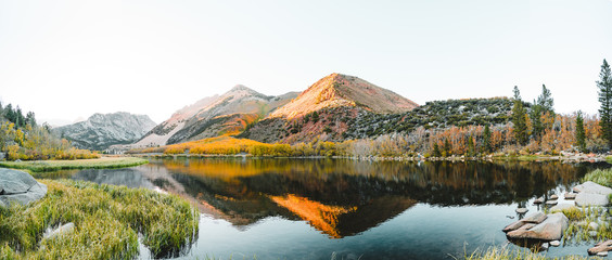 Massive North Lake Fall Panorama