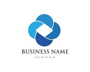 Business Finance professional logo template