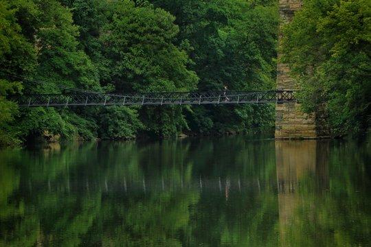 Iron Foot-Bridge Over the Brandywine River, Wilmington, Delaware