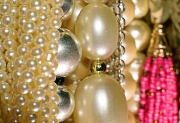 Jewelry Pearl Closeup Background