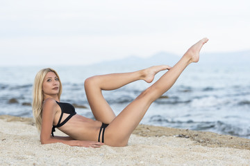 Tall Blonde Legs 33
