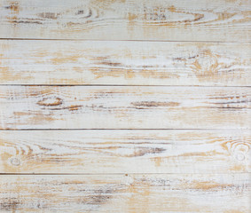 White wood background pattern with high resolution. Top view Copy space
