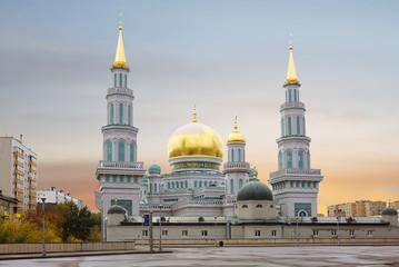 Москва. Соборная мечеть.