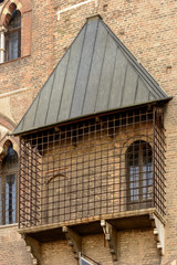 cage for  sentenced at Ducale Palace, Mantua, Italy