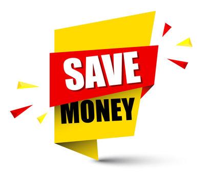 banner save money