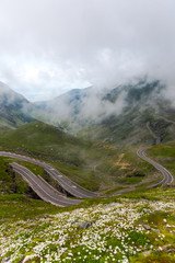 Amazing Transfagarasan road , one of the most beautiful road in the world