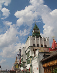 """""""The Kremlin in Izmailovo"""" is a cultural and entertainment complex located in the Eastern Administrative District of Moscow."""