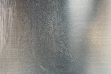 Silver metal, Stainless steel texture background