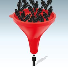 embauche - recrutement - entreprise - emploi - carrière - concept - choisir - sélectionner