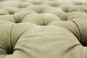 sofa texture background detail of button finishing