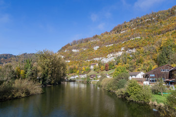Le Doubs à St Ursanne