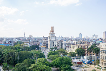 Beautiful city view of Cuba