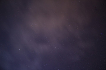 Stars in the night sky background