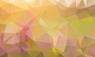 Abstract polygonal illustration, which consist of triangles. Triangular design for your business. Geometric background