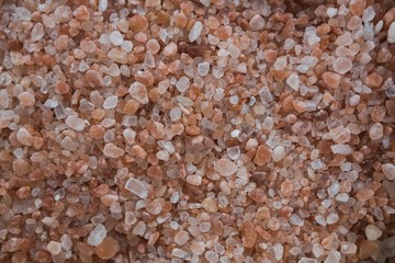 Close-up of sea salt