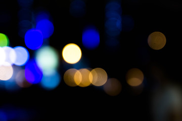 abstract background bokeh light texture or wallpaper.