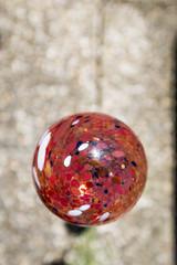 Boule de verre soufflé