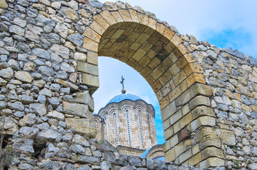 Medieval Manasija Monastery, Serbia