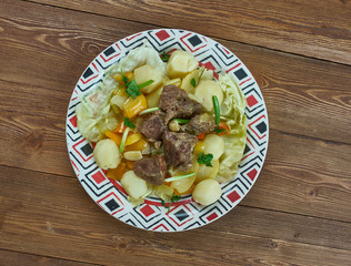 Dimlama stew