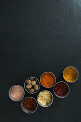 Various spices in bowl