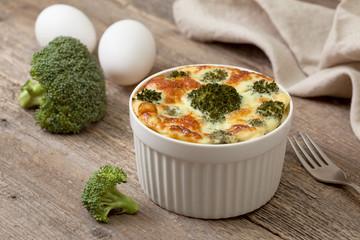 casserole of broccoli