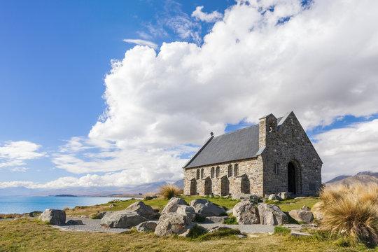 The Church of the Good Shepherd at Lake Tekapo, Canterbury, New Zealand