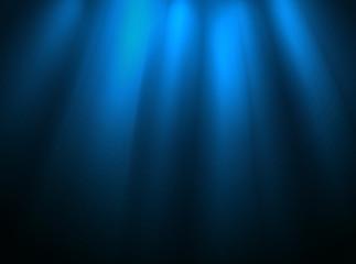 Illuminated stage layout. Presentation template