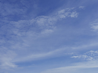 beautiful cloudy blue sky background
