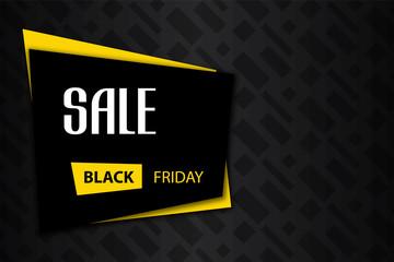 Black friday sale deals - vector banner ( shopping , promotion )