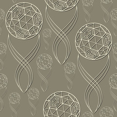 Seamless pattern with soccer ball 17