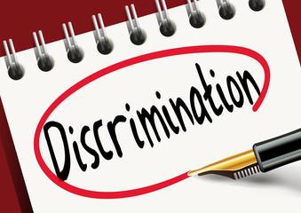 Discrimination - sexuel - race - travail - sexe - raciste - handicap - entreprise - égalité - inégalité