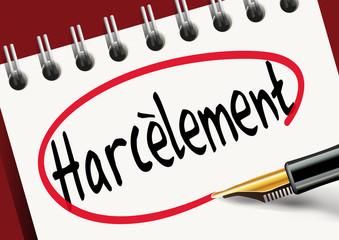 Harcèlement - travail - sexuel - moral - femme - violence - victime - agression